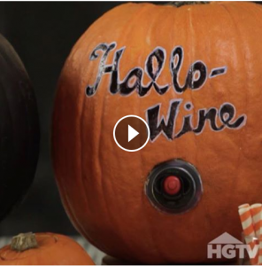 Halloween Wine Dispenser